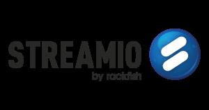 Streamio by Rackfish Logo