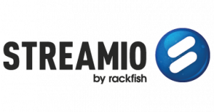 Logotype - Streamio Video Platform by Rackfish