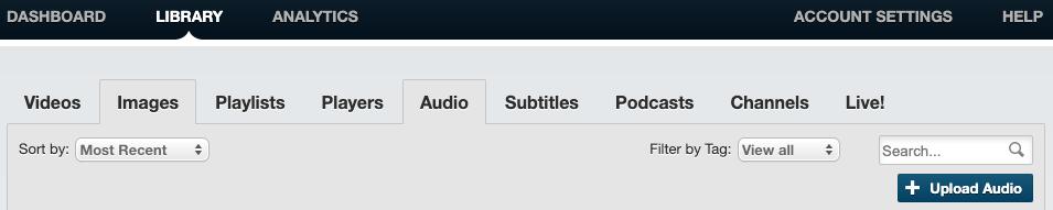 Library - Audio