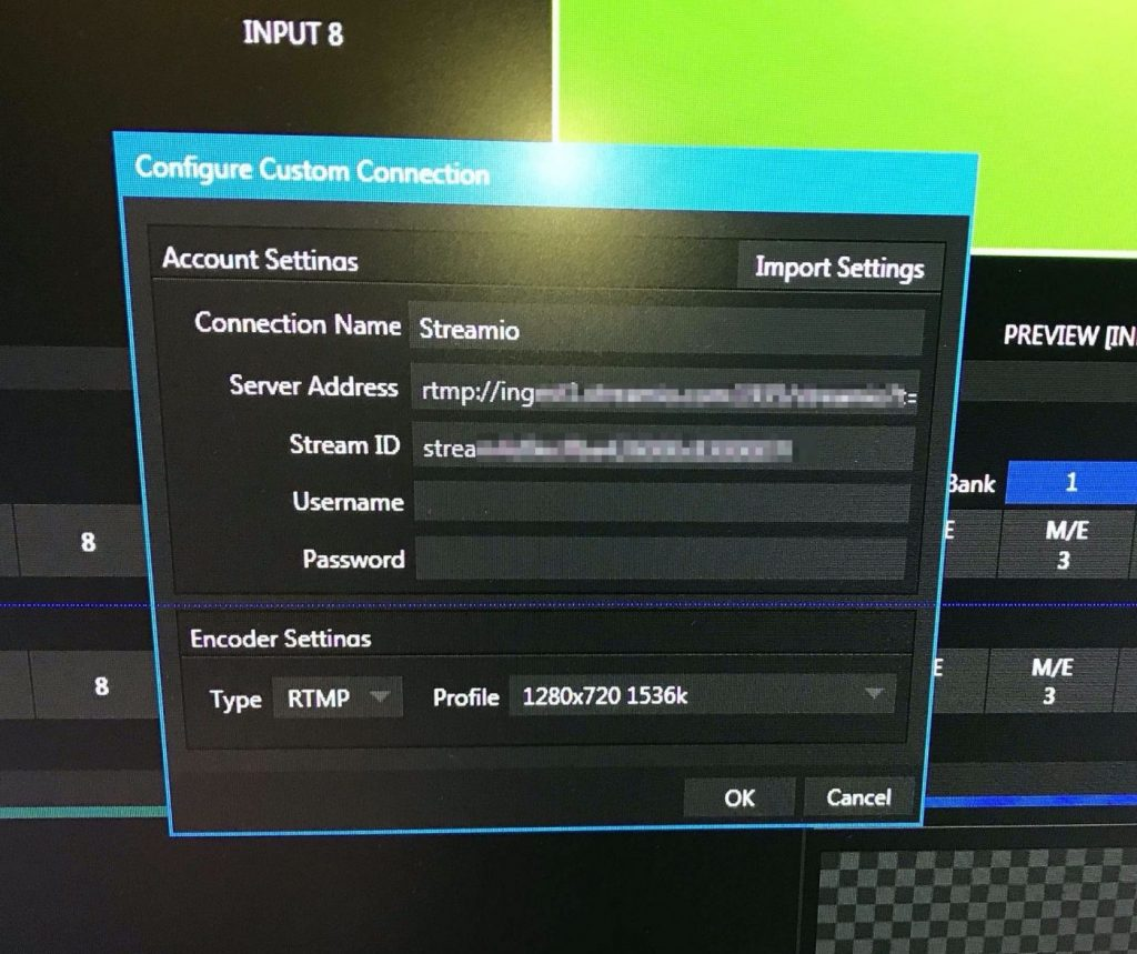 tricaster live streaming