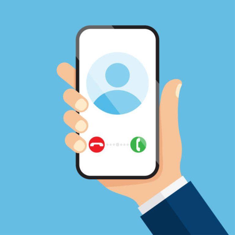 Ringer på Smartphone